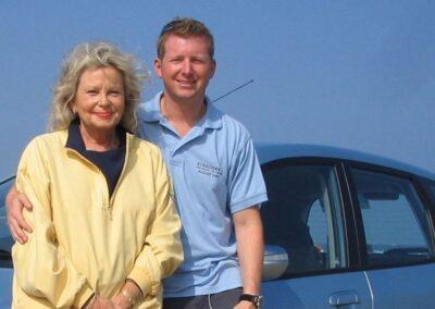 Felicity With Giles Corbin